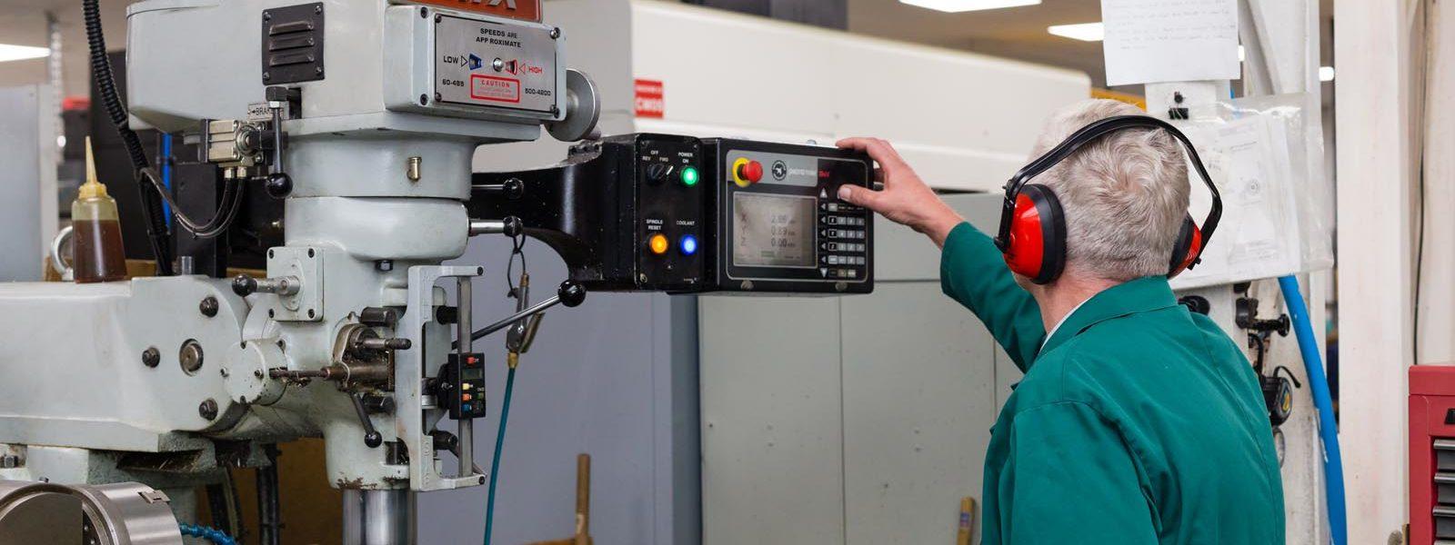 conventional machining header